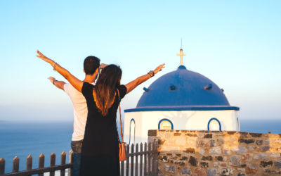 In de schoolvakanties naar Griekenland