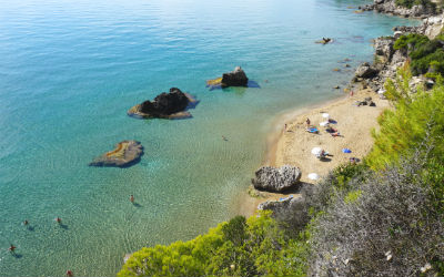 Op maar reizen naar Griekenland