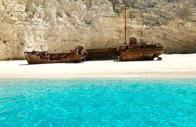 In april of mei op vakantie naar Zakynthos