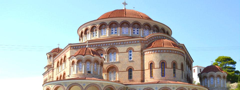 Aegina Agios Nektarios kerk header.jpg