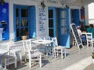 Ermioni vakantie Marias restaurant