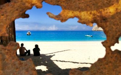 Excursietips Zakynthos Shipwreck beach