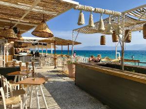Nafplion Arvanitia beach