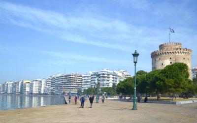 Op de fiets door historisch Thessaloniki