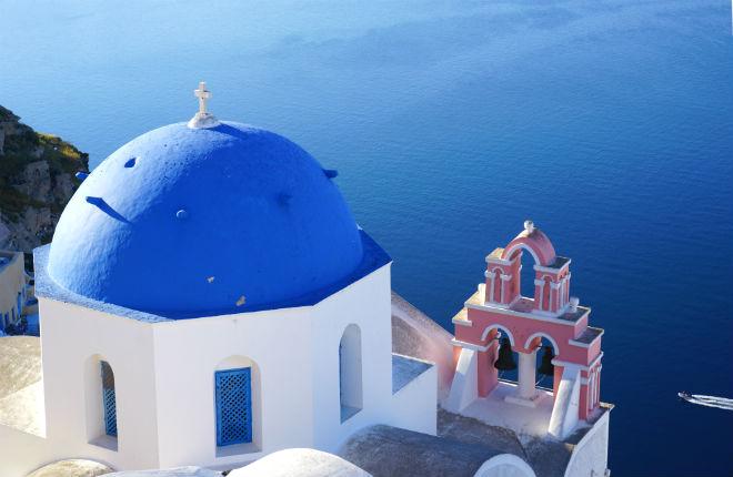 Santorini vakantie in Griekenland