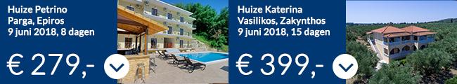 Griekenland vakantie aanbiedingen