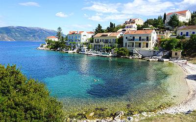 5 gezellige vakantiebestemmingen op Kefalonia Fiskardo