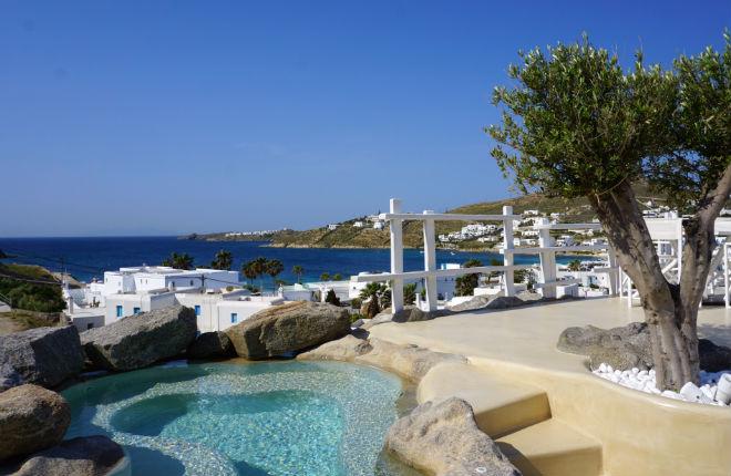 Beroemdheden op vakantie Griekenland