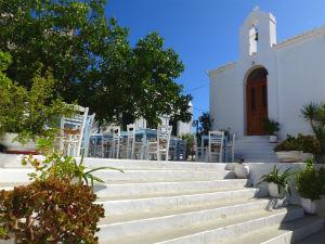 Kythnos vakantie kerk