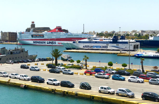 Piraeus vakantie