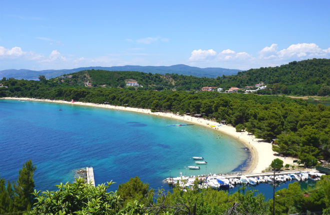 Sporaden eilanden Griekenland