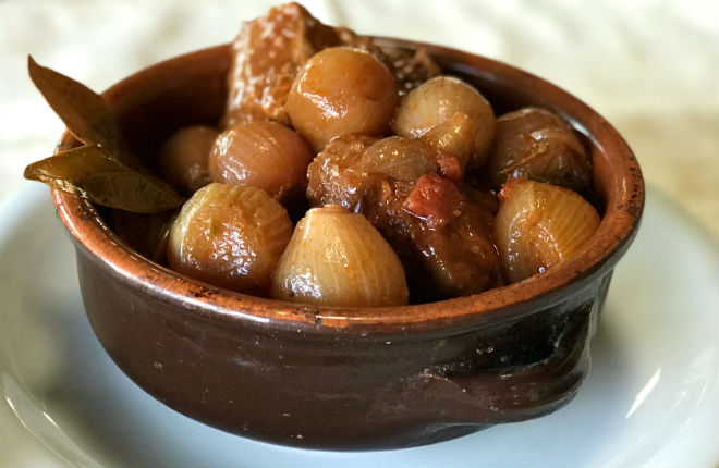 Stifado recept