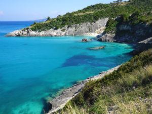 Zakynthos Xigia beach uitzicht