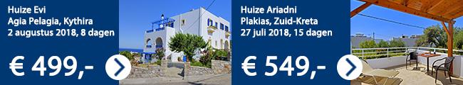Aanbiedingen Griekenland vakanties
