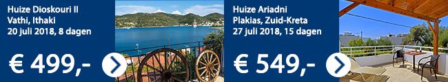 Aanbiedingen Griekenland Ross Holidays