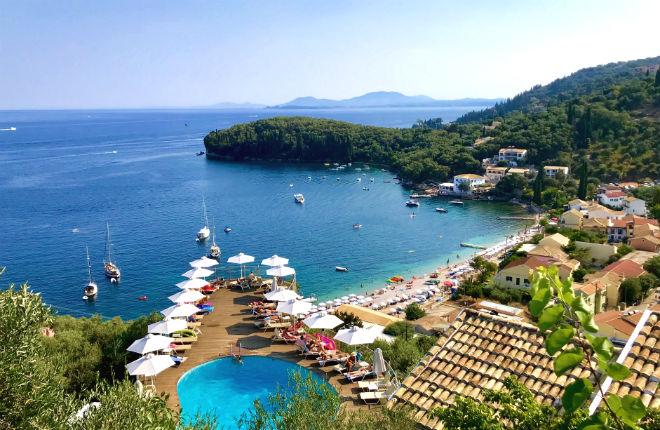 Kalami Corfu