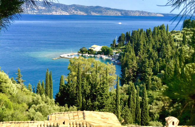 Kouloura Corfu vakantie