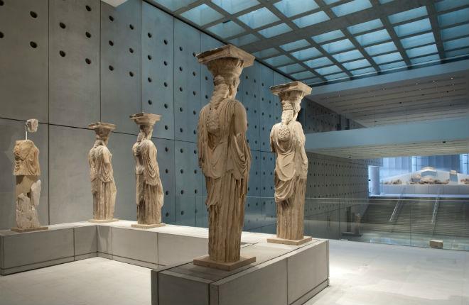 Akropolis museum bij beste zes musea ter wereld