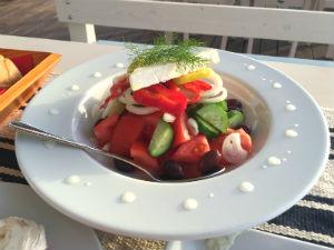 Griekse salade choriatiki