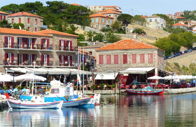 Lesbos, Samos en Mykonos veel meer toeristen