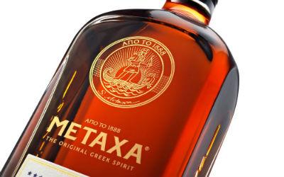 Metaxa 12 sterren fles