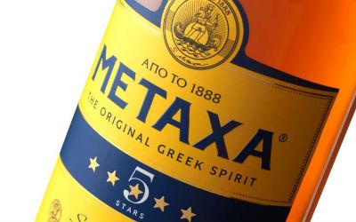 Metaxa 5 sterren fles