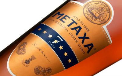 Metaxa 7 sterren fles
