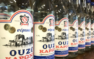 Ouzo favoriete Griekse drankje