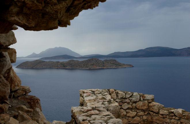 Zorbas raast over Griekenland