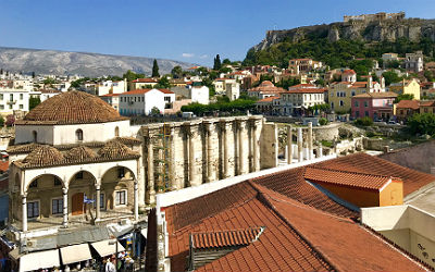 Athene, Corfu, Kos en Kreta meer toeristen in augustus