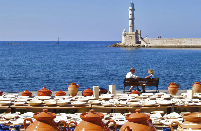 Chania op Kreta