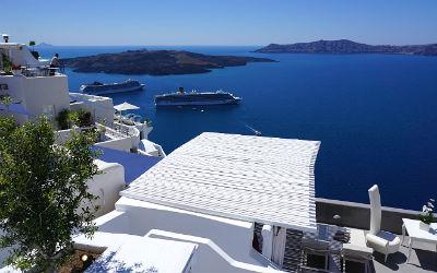 Santorini bestemming voor het hele jaar