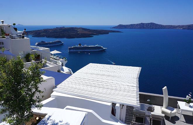 Santorini bestemming voor het hele jaar door