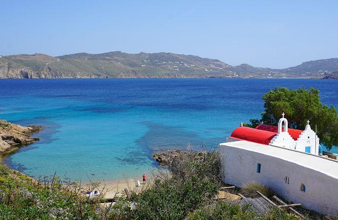 5 mooiste stranden van Mykonos