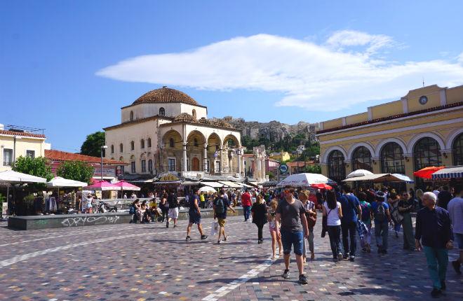 Griekenland met luchthavens in top 7 Europa