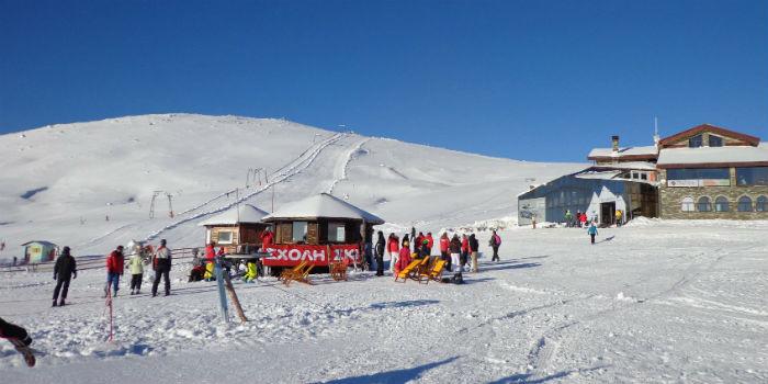 Ski resorts in Griekenland geopend