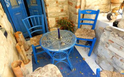 Thuiskomen op een magisch eiland Samos