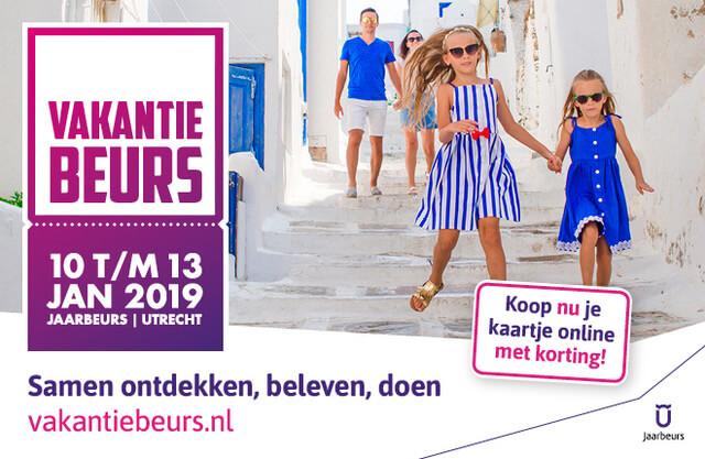 Vakantiebeurs Utrecht 2019