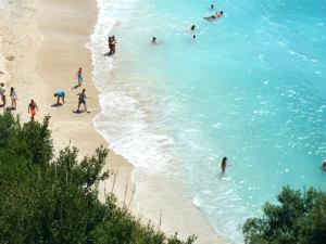Mooiste stranden van Parga Sarakiniko beach