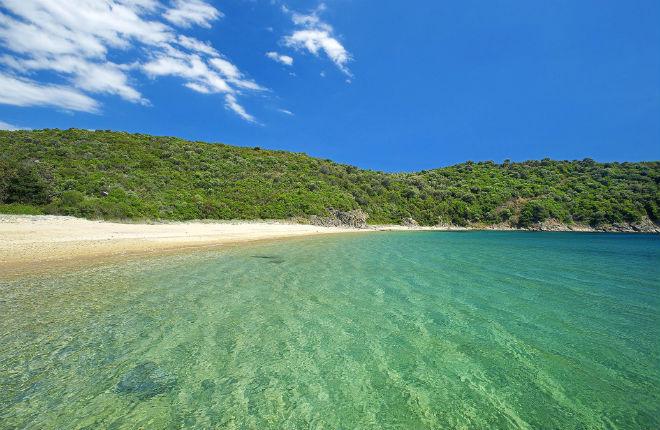 7 mooiste stranden van Chalkidiki