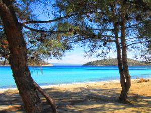 Lagonisi bij 7 mooiste stranden van Chalkidiki