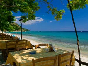 Possidi beach bij 7 mooiste stranden van Chalkidiki