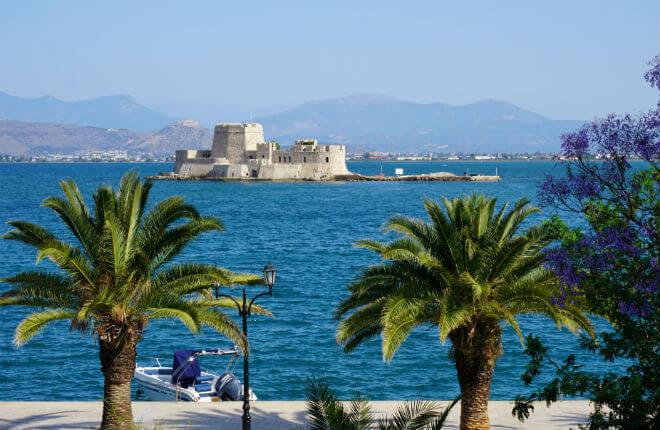 Vasteland Griekenland vakantie