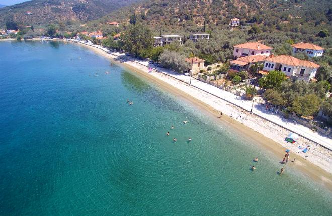Kalamos vakantie op Pilion