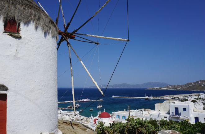 Het klimaat en weer op Mykonos