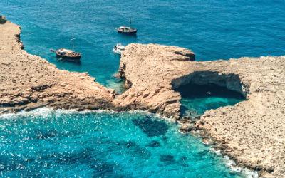 Lipsi vakantie het eilandje Makronisi