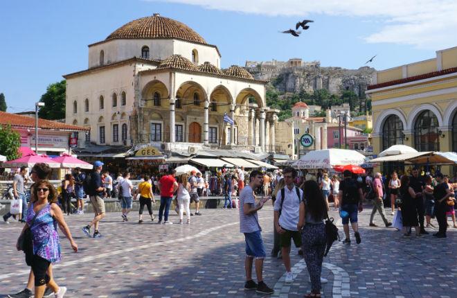 Record aantal toeristen naar Griekenland op vakantie in 2018