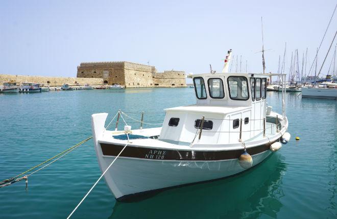 Heraklion op Kreta