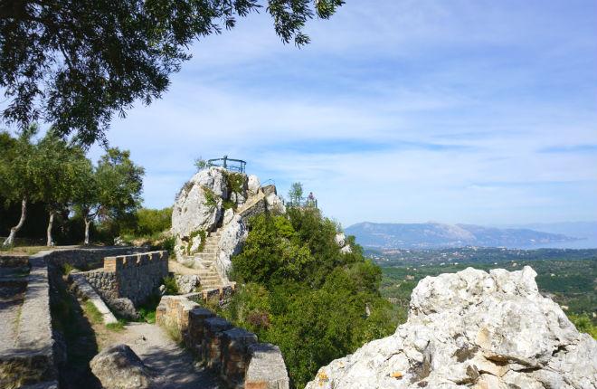 Pelekas Corfu vakantie