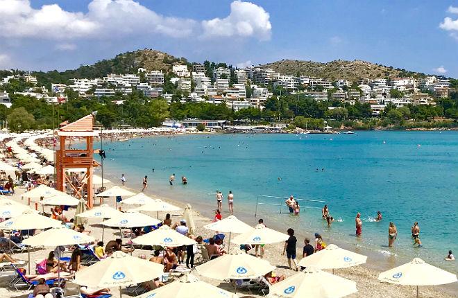 Vouliagmeni vakantie aan de Atheense Riviera